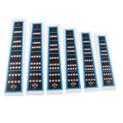 MyXL Kwaliteit 6 Stks Viool Praktijk Toets Sticker Fret Vinger Marker Grafiek