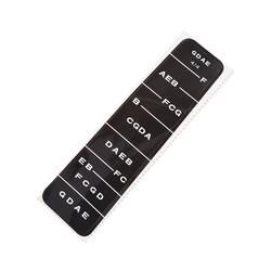 MyXL Gmarty Viool 4/4 Praktijk Fiddle Vinger Gids Schaal Sticker Label Toets Fretboard Indicator Viool Onderdelen & Accessoires
