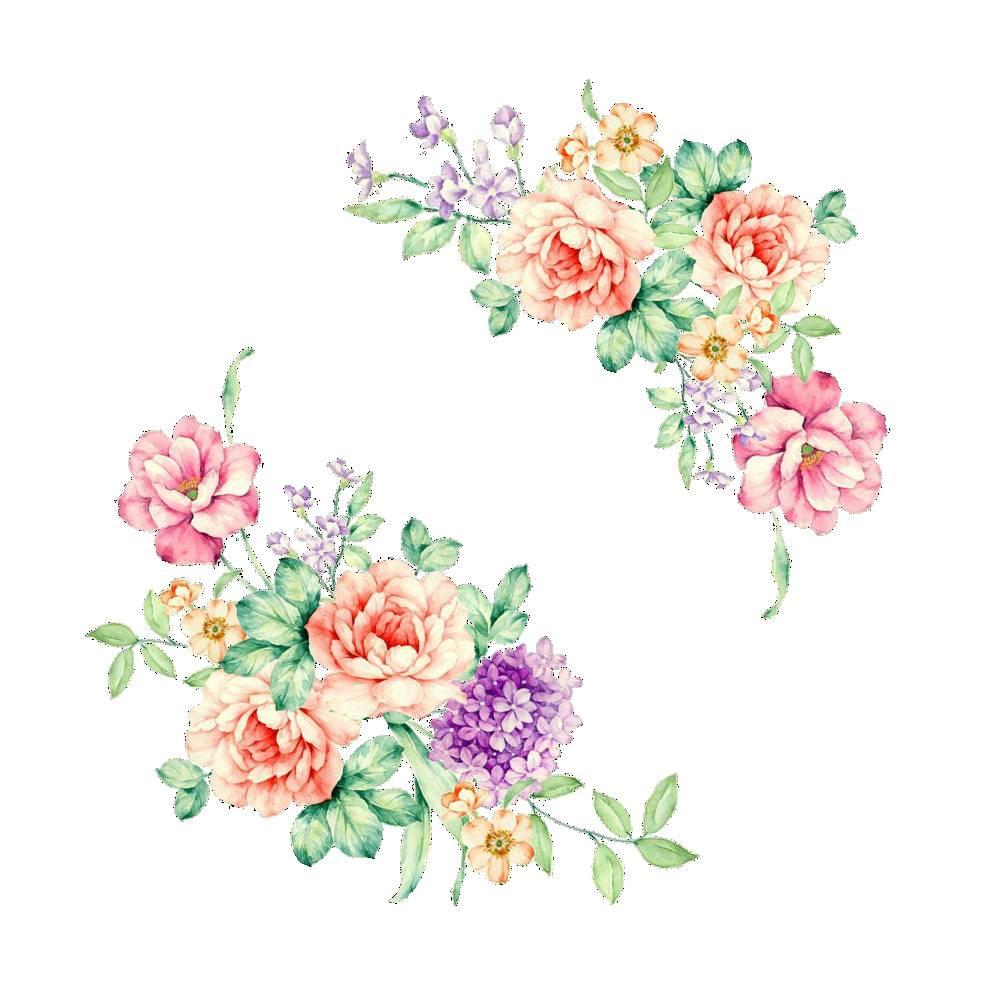 Kleurrijke Bloemen 3D Muurstickers Mooie Pioen Koelkast Stickers Garderobe Wc Badkamer Decoratie PVC