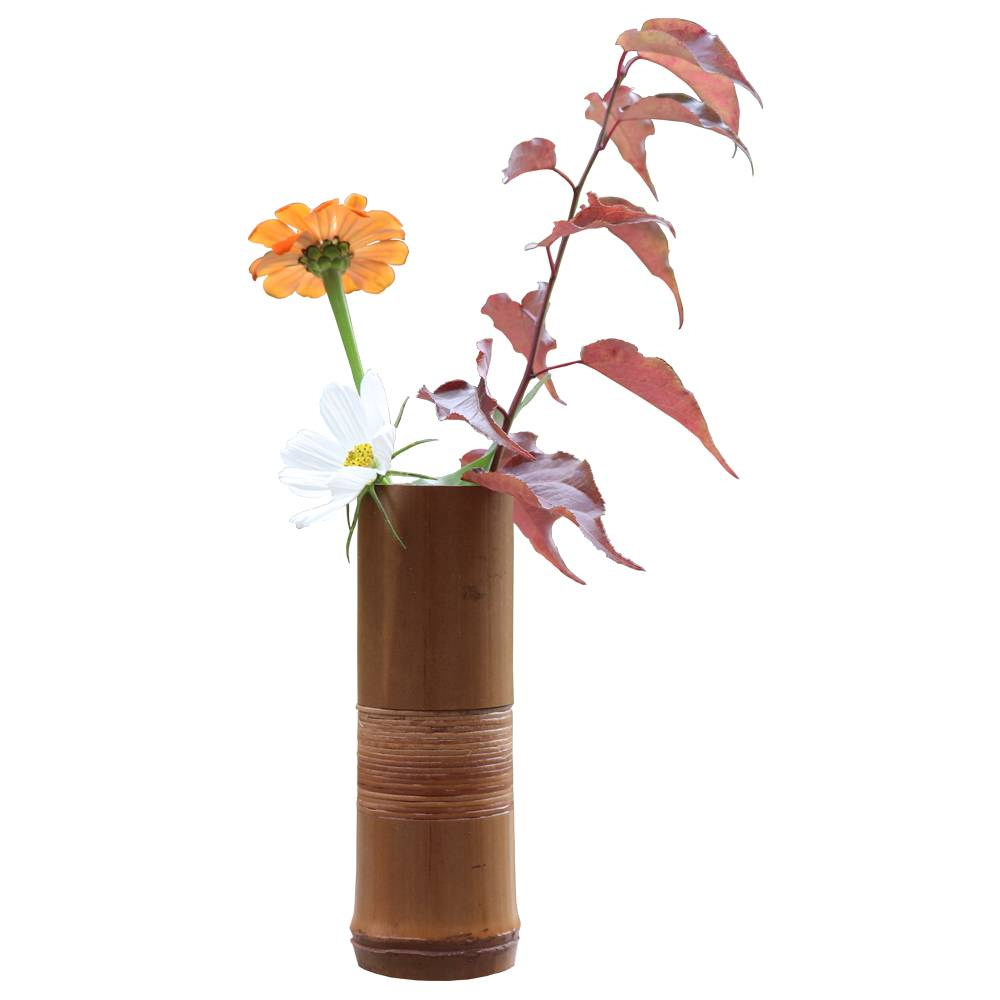 Japanse Bamboe Bloem Vaas Voor Woondecoratie Handgemaakte Bruiloft Decoratie Vaasbloempotten stands