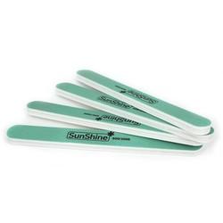 MyXL 600/3000 grit Schuren Wasbare Manicure Tool nagelvijl 17x2 cm 1 stks Groene Rechte Rand Stok Nail Art Salon
