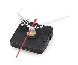 Uurwerk Mechanisme met Zilveren Uur Minuut Rode Secondewijzer