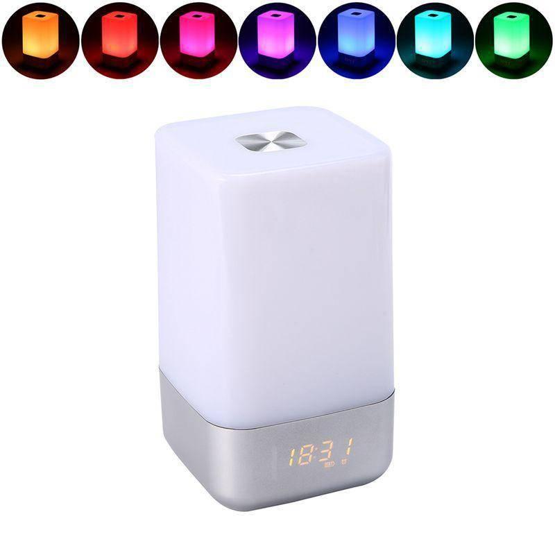 Sunrise Wekker Multifunctionele 7 veranderende Kleuren Wakker Licht Baby Nachtlampje Huisdecoratie L