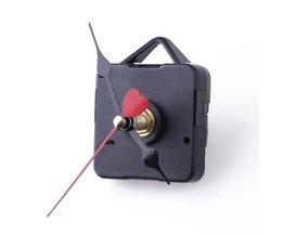 SZSBeweging Mechanisme Quartz Klok Zwart 3 Naald Rouge DIY Reparatie