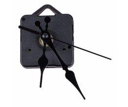 Uurwerk Mechanisme met Zwarte Uur Minuut Tweede DIY Tools Kit