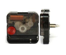 12888 11mm Grijs Asix Schroef Type Plastic Beweging Met Handen Sweep Klok Accessoire Stille Quartz DIY Beweging Kits