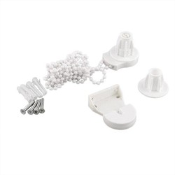 MyXL Venster Behandelingen Hardware Jaloezieën Roller Blind Cluth Onderdelen DIY Beugel Bead Chain 25mm Kit Controle Uiteinden