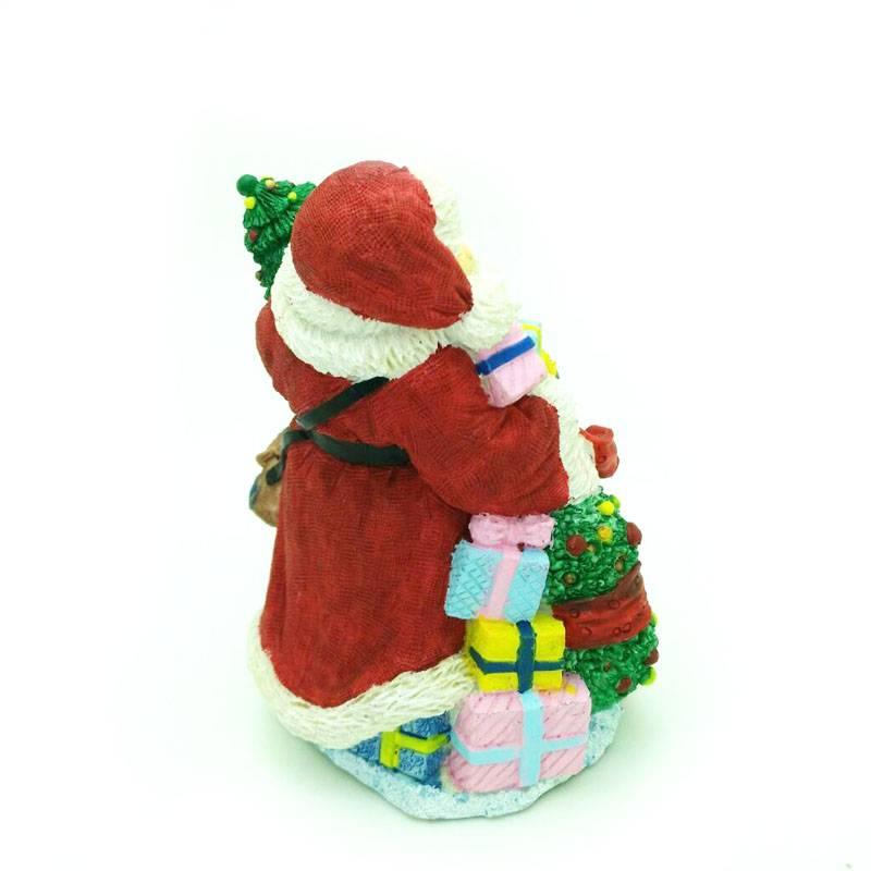 BIG size Kerstman Siliconen mallen voor cake decoratie 3D Kerstman zout sculptuur vorm kaars schimme