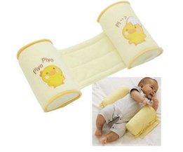 1 Stuk Comfortabele Katoen Anti Roll Kussen Mooie Peuter Veilige Cartoon Sleep Head Standsteller Anti-rollover Baby Kussen