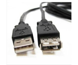 USB Man-vrouw Extension Charger Adapter Data Cord Extender Kabel voor Telefoons adapter laptop PC toetsenbord Muis usb-apparaten