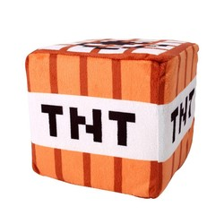 MyXL 201510 cm * 10 cm Minecraft Knuffel Katoen Gevulde TNT Sleutelhanger Bom Voor Kidscartoon pluche collection