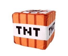 201510 cm * 10 cm Minecraft Knuffel Katoen Gevulde TNT Sleutelhanger Bom Voor Kidscartoon pluche collection