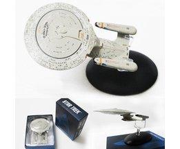 Star Trek USS Enterprise NCC-1701-D Ruimteschip Model Beyond USS. Startrek In Duisternis Classic Schip Cijfers
