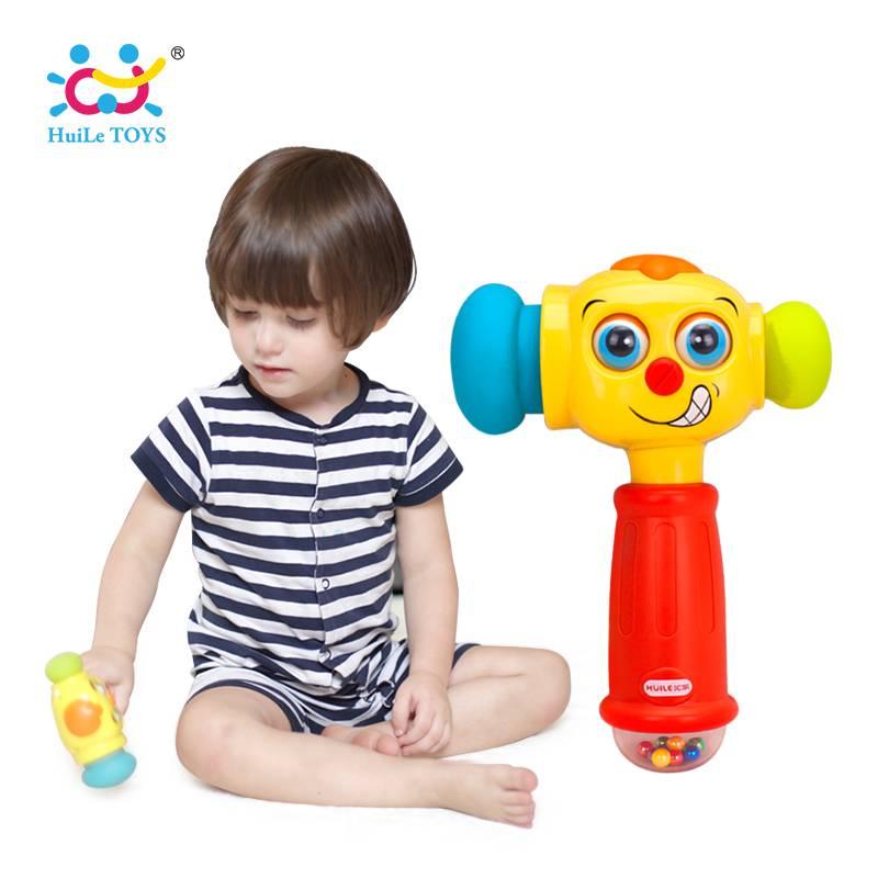HUILE SPEELGOED 3115 Baby Speelgoed Peuter Spelen Hamer Speelgoed met muziek & Lichten Elektrische S