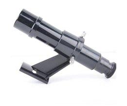 Finder scope 5x24 astronomische Telescoop Zoeker Ster Pointer Finder scope Riflescopes met Beugel Cross Richtkruis