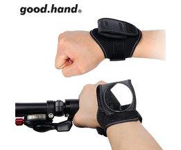 Fiets Back Spiegel Fietsen Wrist Band Strap Reflex Achteraanzicht Achteruitkijkspiegel Arm Pols Fietsaccessoires