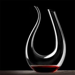 MyXL 1500 ML Grote Decanter Handgemaakte Kristallen Rode Wijn Brandy Champagne Glazen Karaf Fles Jug Schenker Beluchter Voor Familie Bar <br />  YKPuii