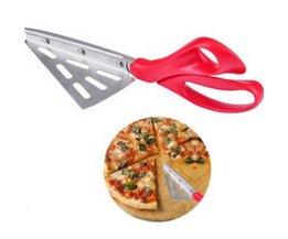 Pizza Schaar Mes Rvs Pizza Schop Schaar Pizza Cutter Bakken Toolsl Keuken Accessoires EJ678079 <br />  EH-LIFE