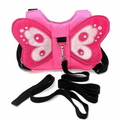MyXL Peuter Baby Kids Anti-verloren Vlinder Walking Riem Veiligheid Harness Leash Strap Rugzak <br />  Safurance