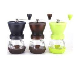 Handkoffiemolen Draagbare hand koffiezetapparaat Wasbare Handmatige braam koffiemolen machine Keramische Core Thuis & Keuken <br />  MyXL