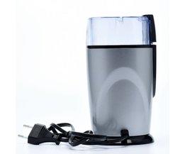 Koffiemolen Elektrische Koffiemolen 220 VRvs Blade Koffiezetapparaat Vlees Bonen Kruiden Noten Grinder <br />  MyXL