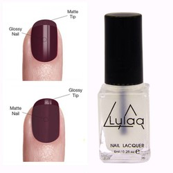 MyXL Collectie 6 ML Magic Super Matte Nagellak Transparante Nagels Gel Frosted Oppervlak Olie Nagellak Top Kwaliteit <br />  <br />  LULAA