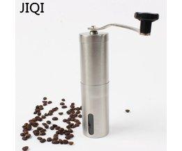 Handige Rvs Handkoffiemolen Afneembare Gemakkelijk te Monteren Koffiezetapparaat Draagbare Koffie Molen <br />  JIQI