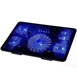 MyXL Naju echt 5 fan 2 usb laptop cooler cooling pad base LED Notebook Koeler Computer USB Fan Stand Voor Laptop PC 10 ''-17'' <br />  NAJU