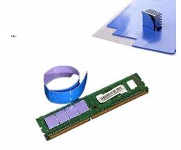 1 Stuk 100x100x1mm GPU CPU Chip Heatsink Cool Thermische Geleidende Siliconen Pad <br />  MyXL