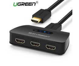 3 Port HDMI Switch Switcher HDMI Splitter Poort voor XBOX 360 PS3 PS4 Smart Android HD 1080 P 3 Input 1 Output <br />  Ugreen