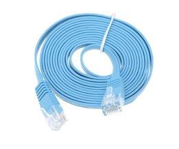 Hoge Snelheid 30 M Cat6 Platte Kabel RJ45 Computer LAN Internet Netwerk Cord 30 M/98.42ft<br />  ELE ELEOPTION