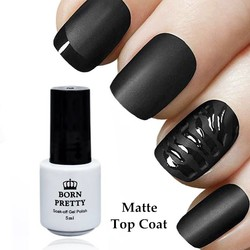 MyXL GEBOREN PRETTY Matte Top Coat 5 ml Gel Polish 1 Fles Geen veeg Losweken UV Gel Varnish Manicure Nail Art UV Gel Polish <br />  Born Pretty