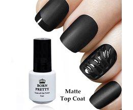 GEBOREN PRETTY Matte Top Coat 5 ml Gel Polish 1 Fles Geen veeg Losweken UV Gel Varnish Manicure Nail Art UV Gel Polish <br />  Born Pretty