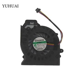 MyXL CPU FAN Voor HP Pavilion DV6 DV6-6000 DV6-6050 DV6-6090 DV6-6100 DV7-6000 Cooler Fan P/N: MF60120V1-C181-S9A <br />  SILVER LINK