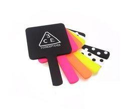 Mini-Handvat Spiegel Mode Draagbare Pocket Make Spiegel Speciale Geschenkdoos <br />  MyXL