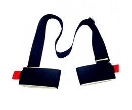 121704 Verstelbare Ski snowboard gemakkelijk rugzak cross country Ski Pole Schouder Hand Carrier Lash Handvat Dual Board Strap bag <br />  MyXL