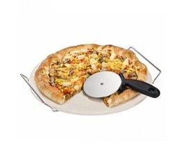 1 st Pizzasnijder Ronde Vorm Pizza Wielen Cutters Cake Brood Ronde Mes Cutter Pizza Gereedschap <br />  HOUSEEN
