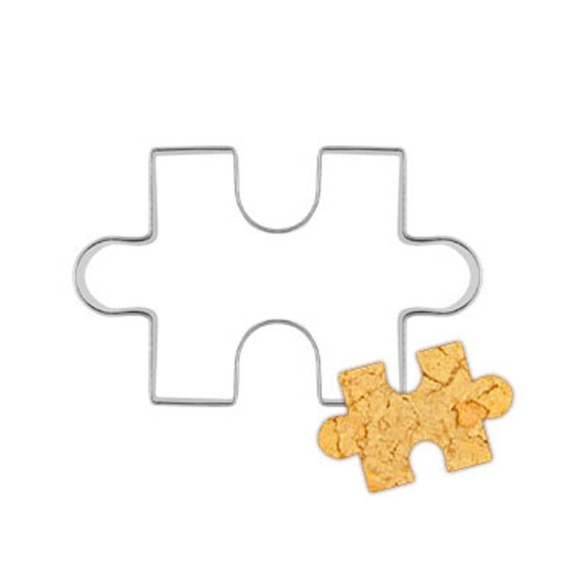 puzzel vorm cookie cutter cake decoratie fondant cuttters gereedschap cookies rvs biscoito moldes pa