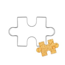MyXL puzzel vorm cookie cutter cake decoratie fondant cuttters gereedschap cookies rvs biscoito moldes para galletas <br />  houseeker