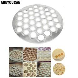 MyXL 37 Gaten Ravioli dumplings Tool maker mold Aluminium Samosa Fornuis russische pelmeni maker Dumplings Maken Mold <br />  MyXL