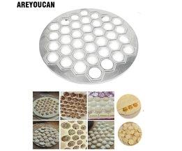 37 Gaten Ravioli dumplings Tool maker mold Aluminium Samosa Fornuis russische pelmeni maker Dumplings Maken Mold <br />  MyXL