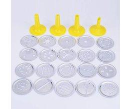 Nieuwigheid DIY Mini Cookie Druk Biscuit Bakken Tools Biscuit Maker Machine Set <br />  MyXL
