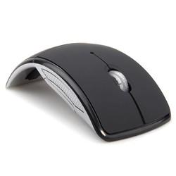 MyXL Draadloze Muis 2.4 Ghz Computer Mouse Opvouwbaar Opvouwbare Optische Muizen Usb-ontvanger voor Laptop PC Computer Desktop <br />  MEMTEQ