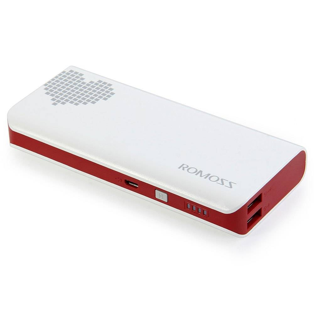 10400 mAh ROMOSS Gevoel 4 Draagbare Oplader Externe Accu Power Bank Snelle Opladen Voor iPhone Samsu