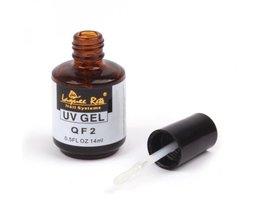 14 ml Niet kleverige Nagellak Top CoatNail Gel Voor Nail Art Systeem Uitstekende Niet Losweken UV Gel Top Coat <br />  MyXL