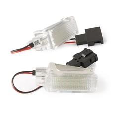 MyXL 2 stks LED Deur Welkom Interieur Licht Courtesy Lamp Onder Deur Kofferbak Licht voor Audi A2 A3/S3 A4 A5 A6 A8 Q7 Q5 RS4 RS6 R8 <br />  Qook