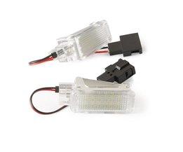 2 stks LED Deur Welkom Interieur Licht Courtesy Lamp Onder Deur Kofferbak Licht voor Audi A2 A3/S3 A4 A5 A6 A8 Q7 Q5 RS4 RS6 R8 <br />  Qook