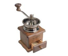 Mini Houten Koffieboon Spice Vintage Stijl handslijpmachine <br />  SAFEBET