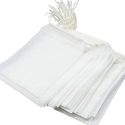 MyXL Theezakjes 100 Stks/partij 5.5x7 CM Lege Theezakjes Met String Heal Seal Filter Papier voor Kruid Losse Thee zetgroep <br />  MyXL