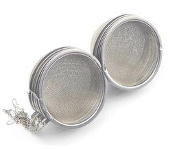 10 stuks/partij 3' inch diameter rvs thee-ei bal homebrew hop bal wijnmaken onderdelen <br />  MyXL